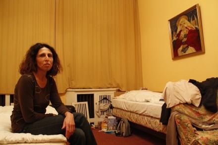 Gabriele Penzenauer aus Wieselburg in Österreich gehört zu den letzten Gästen im Hotel Bogota.